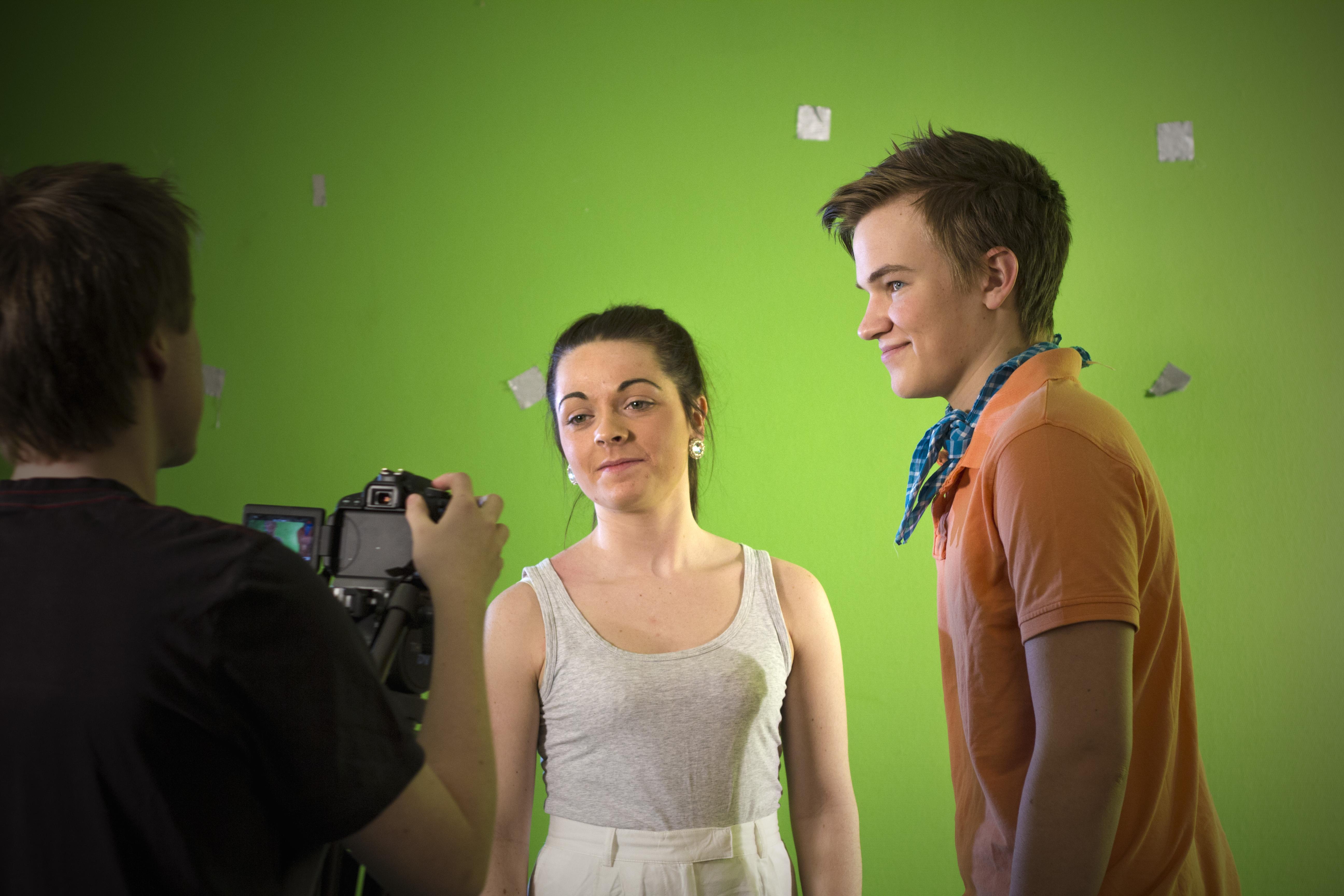 Greenscreen  shoot
