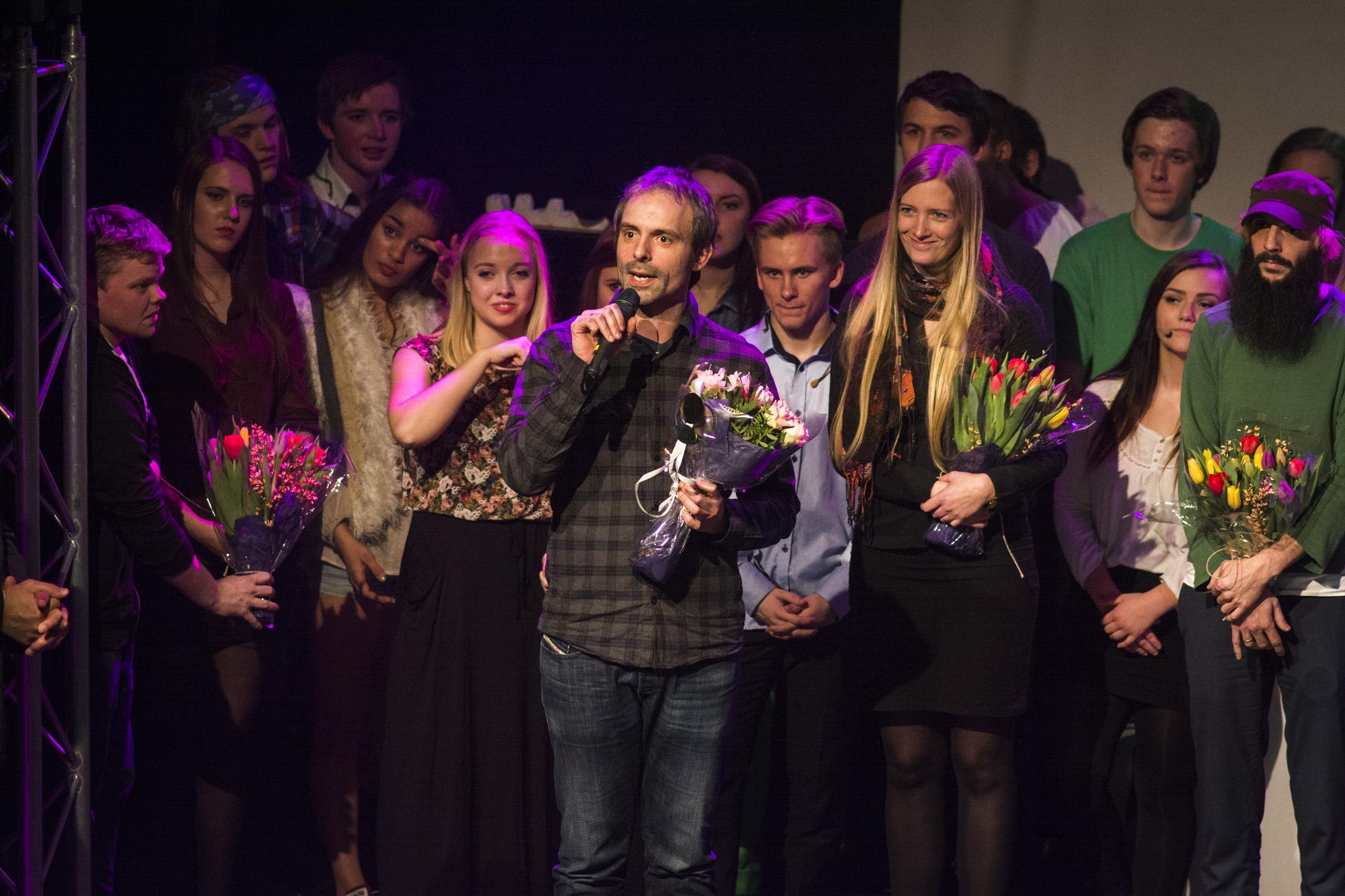 - De har vore eit fantastisk publikum, sa avdelingsleiar og produsent Jan Terje Eidset etter premieren på Ørsta kulturhus laurdag.