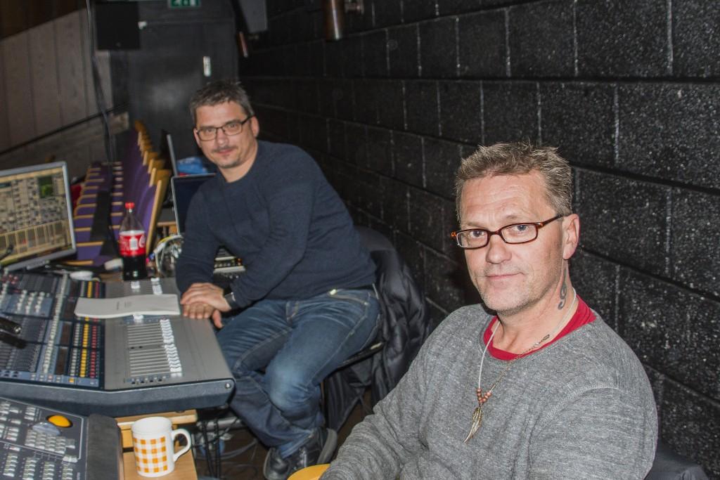 Sverre Walderhaug og Knut Olav Svendsen er begge klare til musikal.